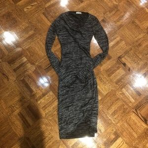 Wilfred Free Bodycon Long Sleeve Dress